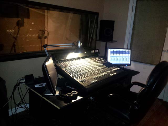 Musty Music Productions studio 2016